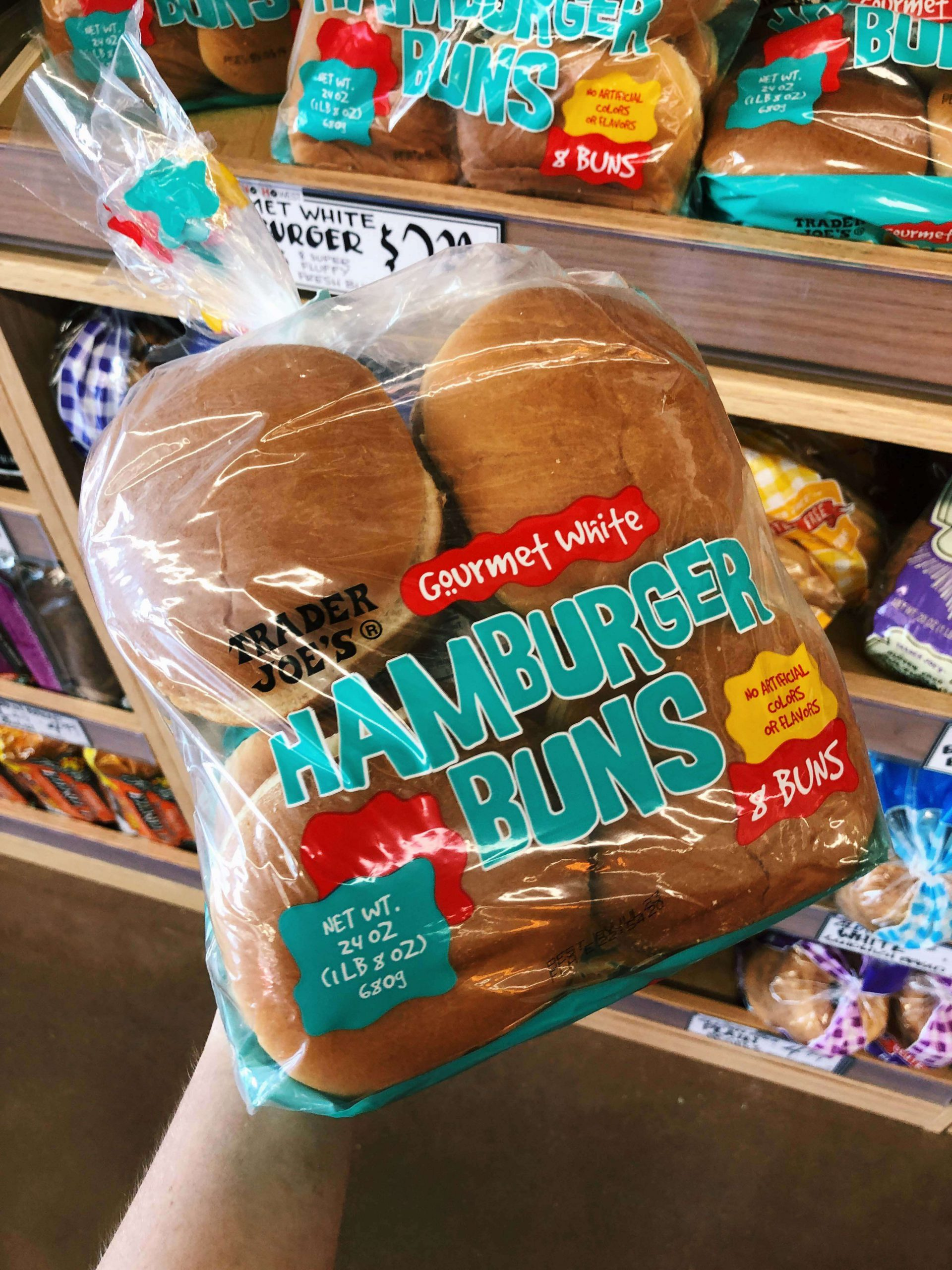 Trader Joe's Hamburger Buns