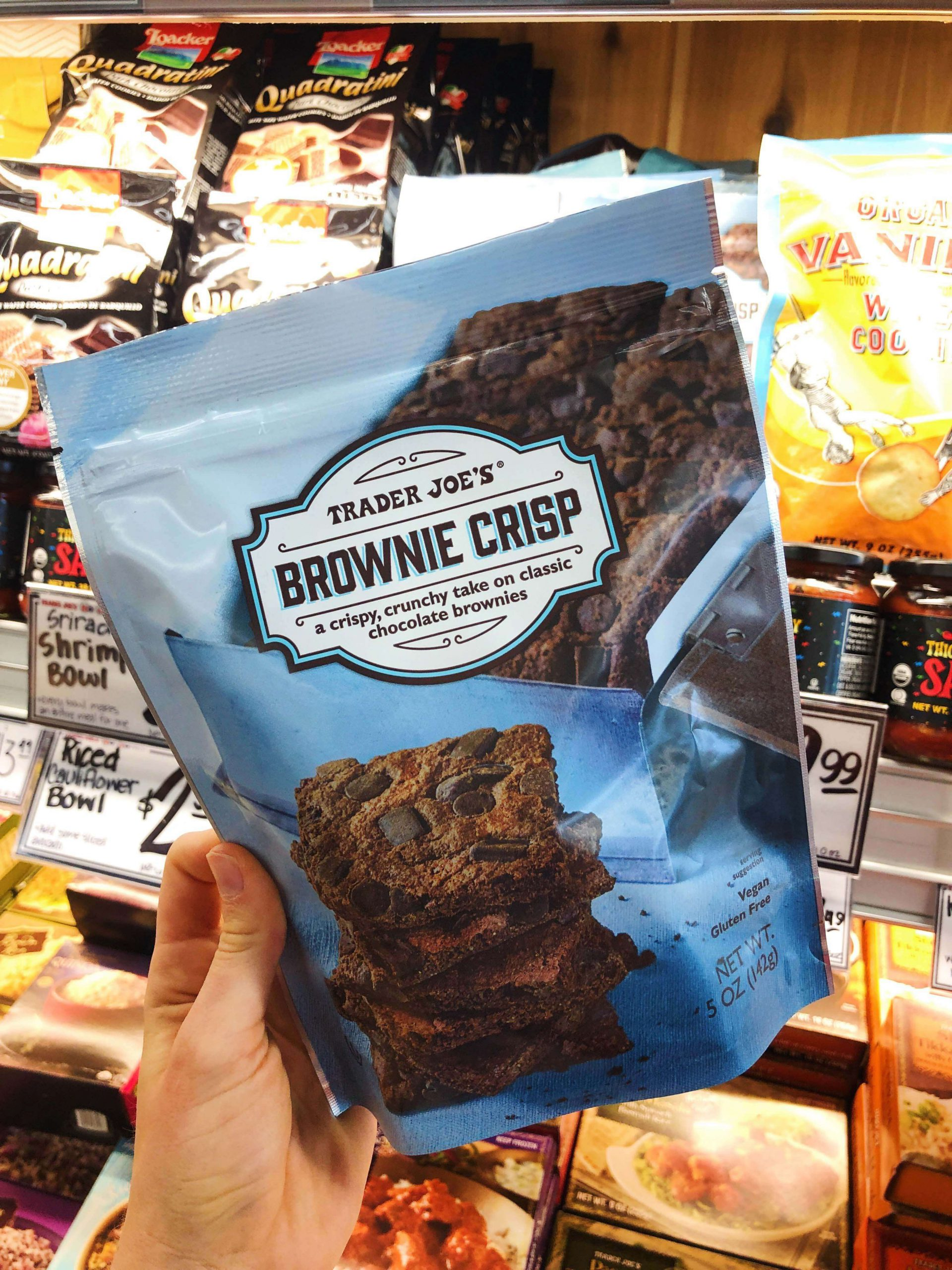Trader Joe's Brownie Crisp