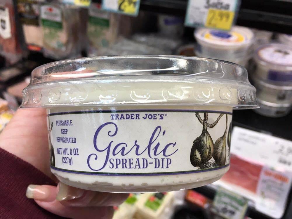 Trader Joe's Garlic Spread
