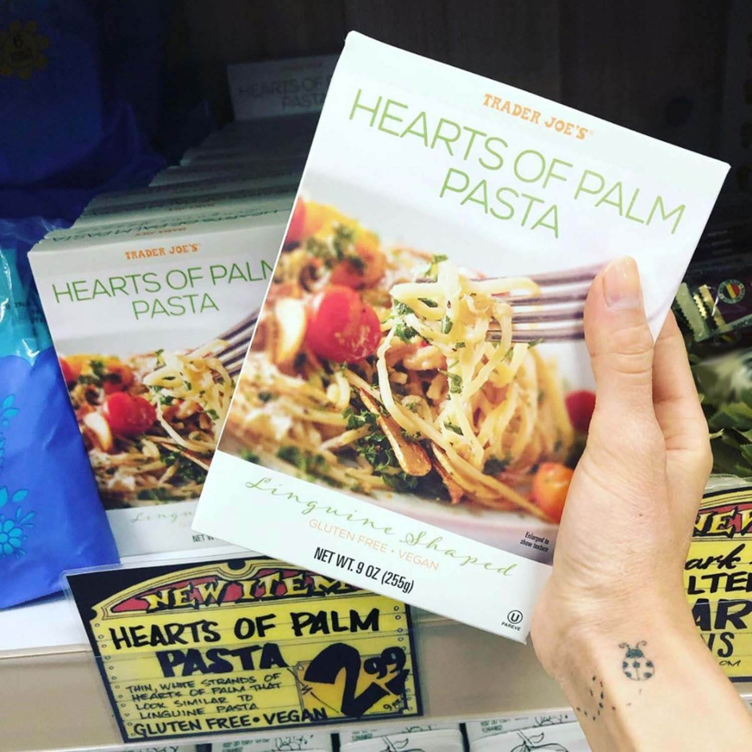 Trader Joe's Hearts of Palm Pasta