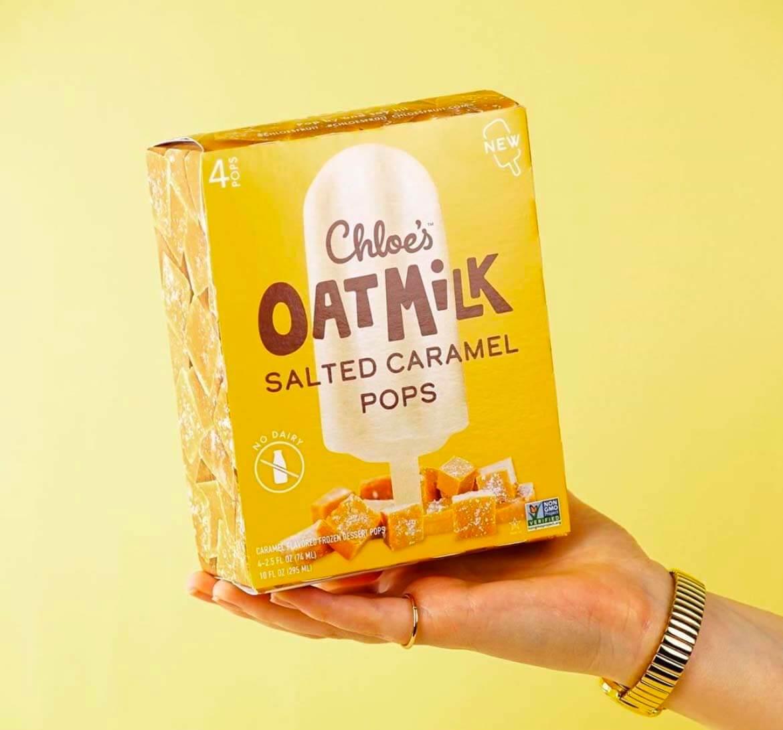 Chloe's Oatmilk Salted Caramel Pops