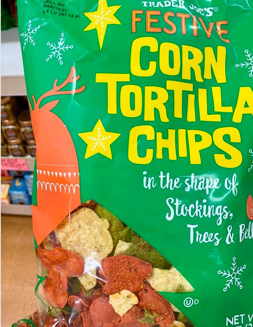 Trader Joe's Festive Tortilla Chips