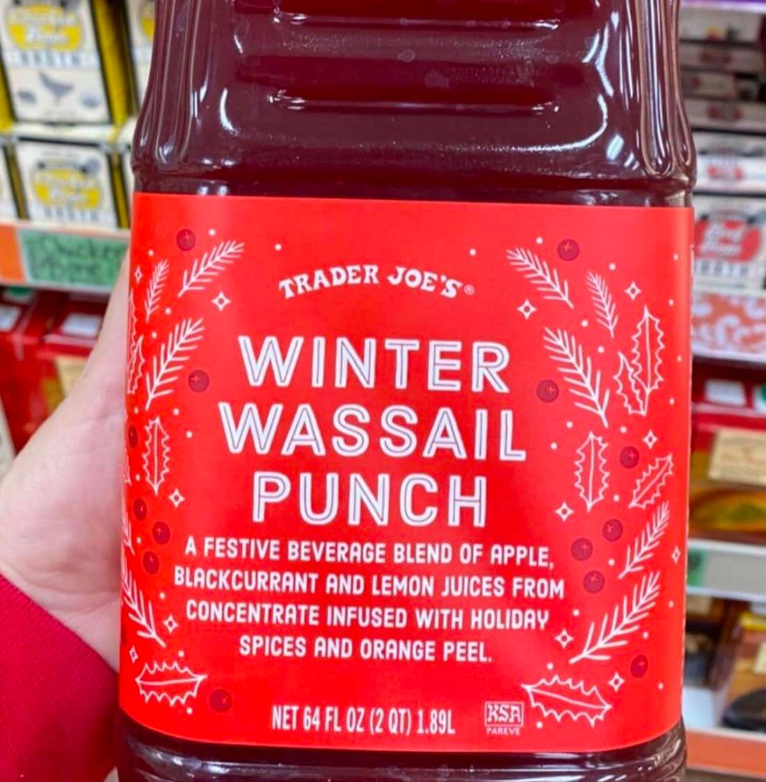 Trader Joe's Winter Punch