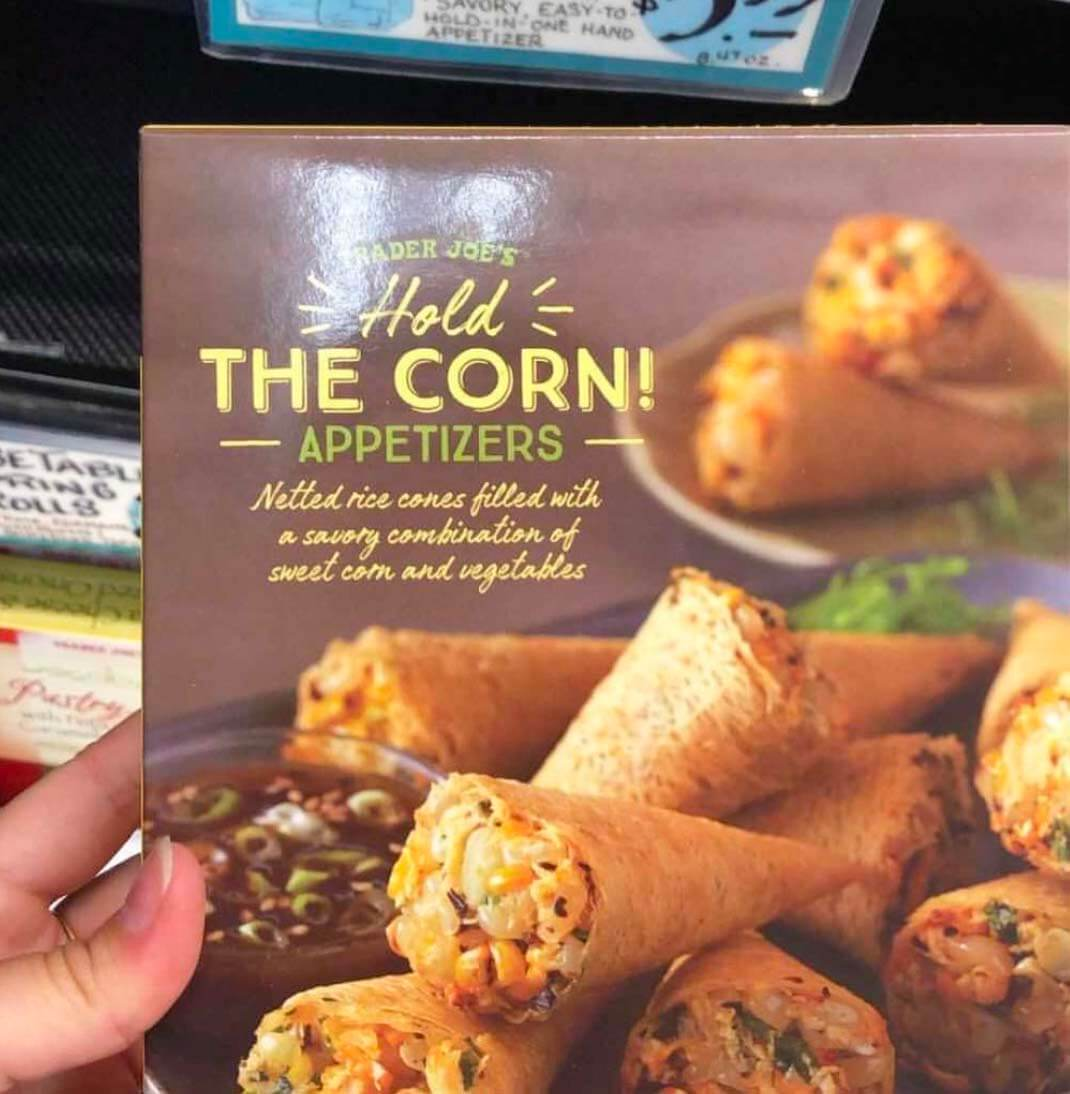 Trader Joe's Hold The Corn Appetizer