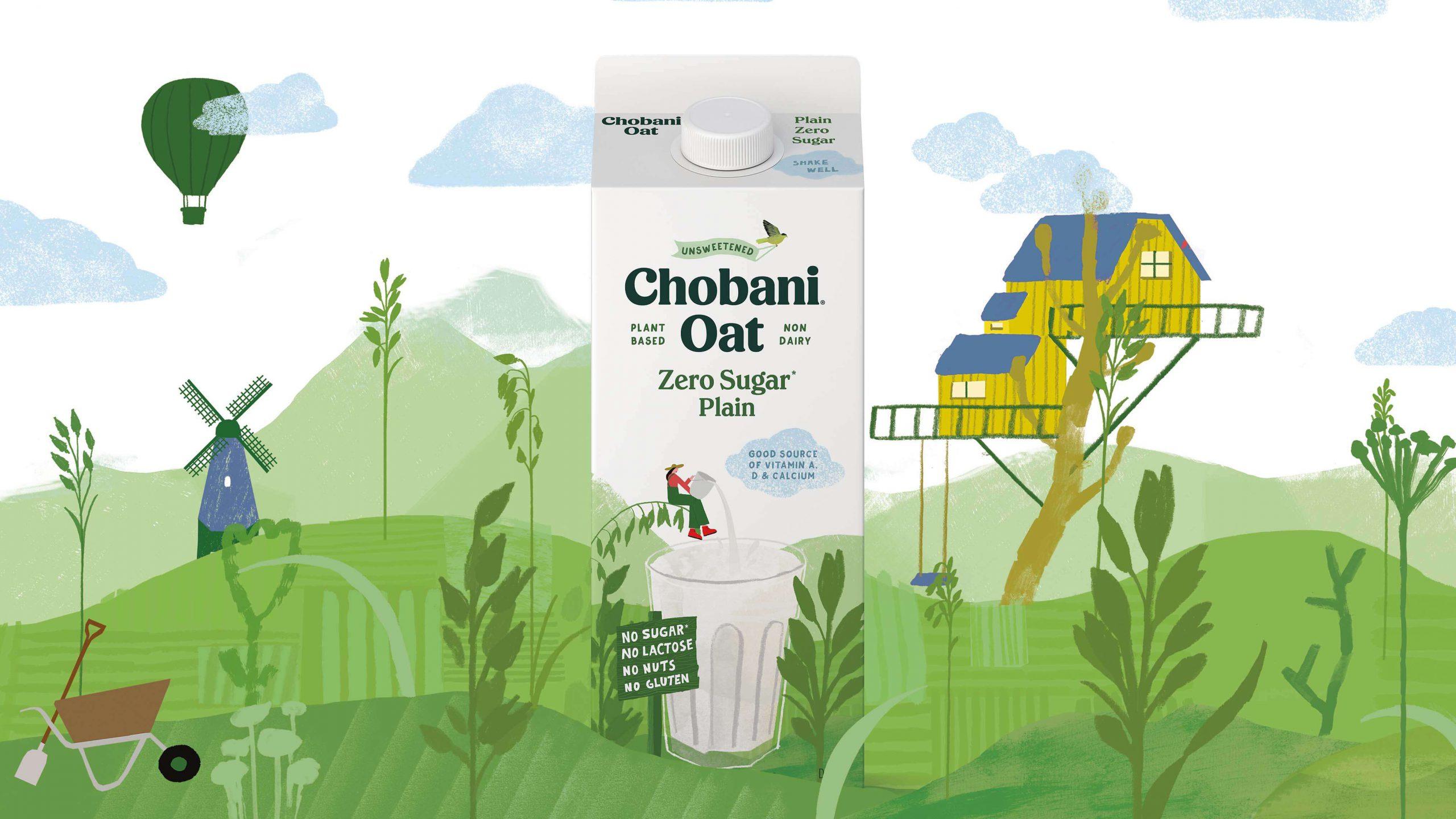 Chobani Zero Sugar Oat Milk