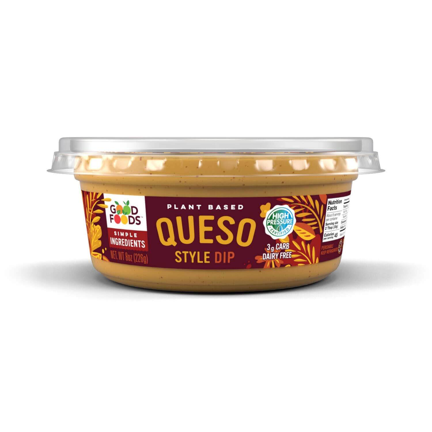 Good Foods Plant Based Queso Dip