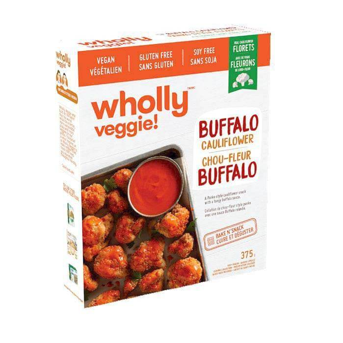 Wholly Veggie! Buffalo Cauliflower Wings