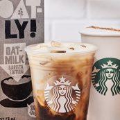 Starbucks Oat Milk