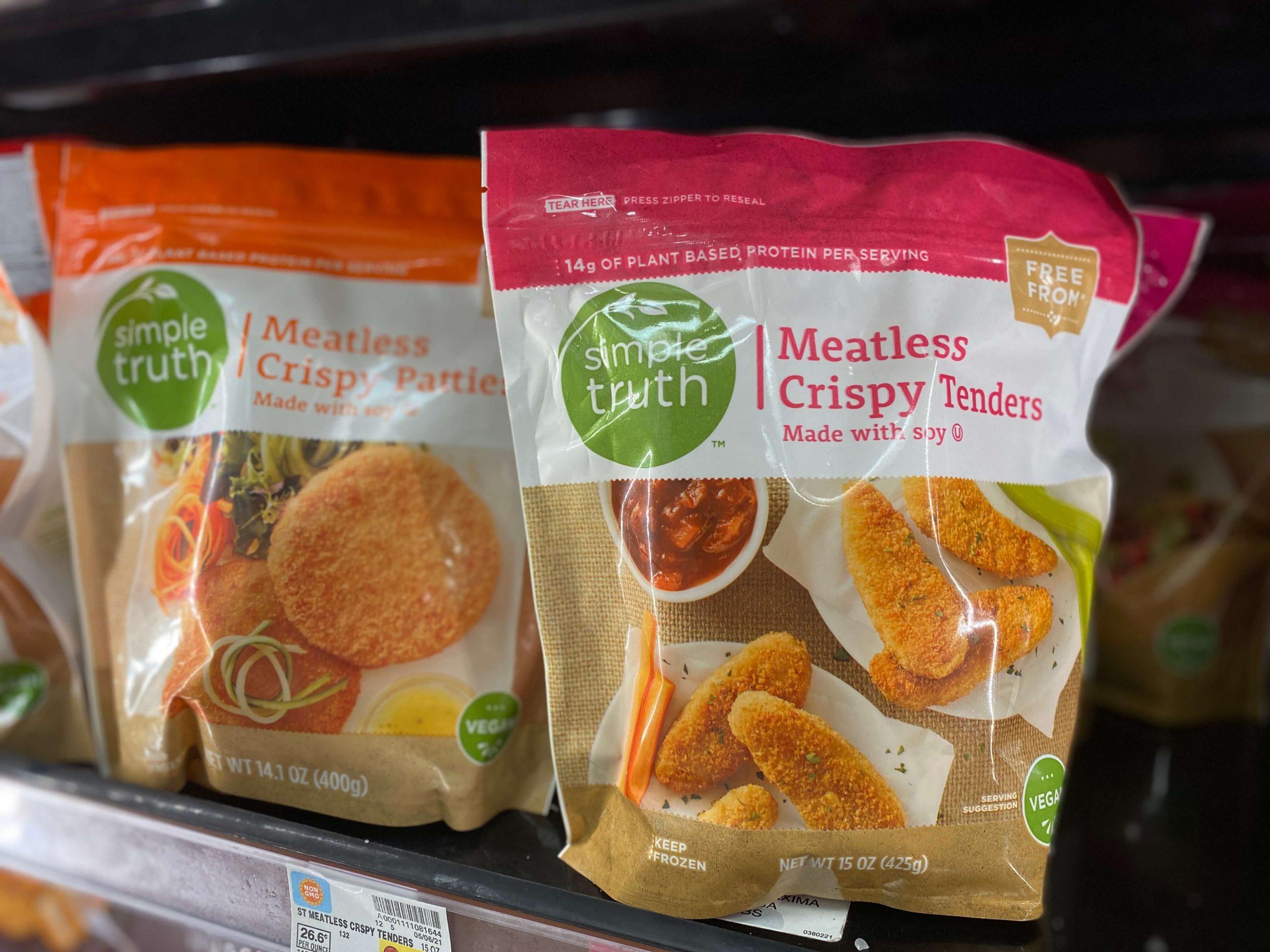 Meatless Crispy Tenders and Patties