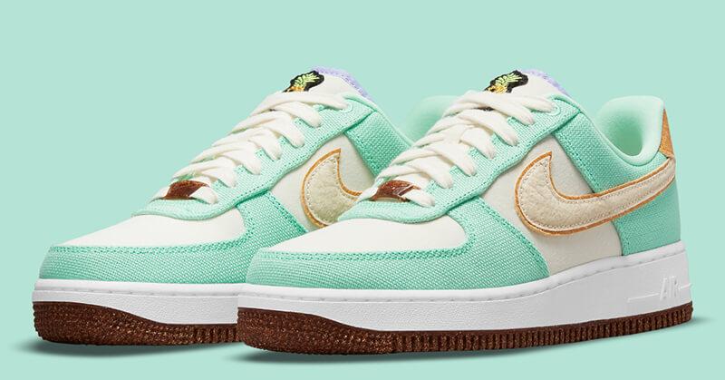 Nike Pineapple Leather Sneakers