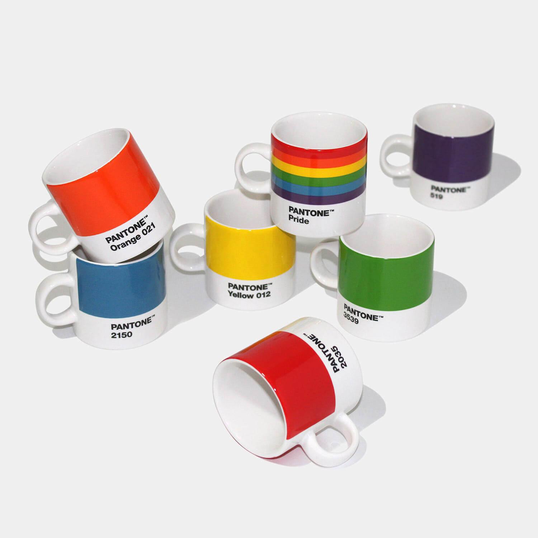 Rainbow Mug Set