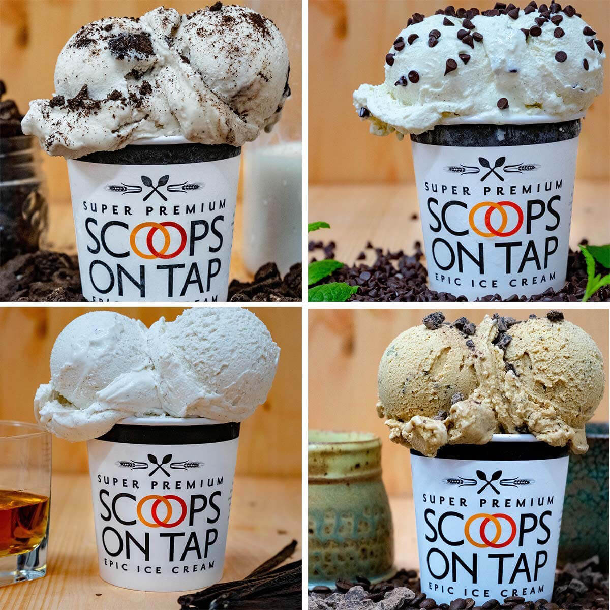Scoops on Tap