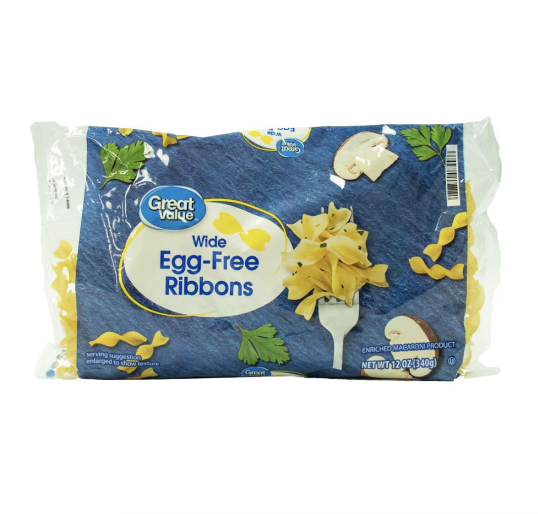 Egg-Free Ribbons