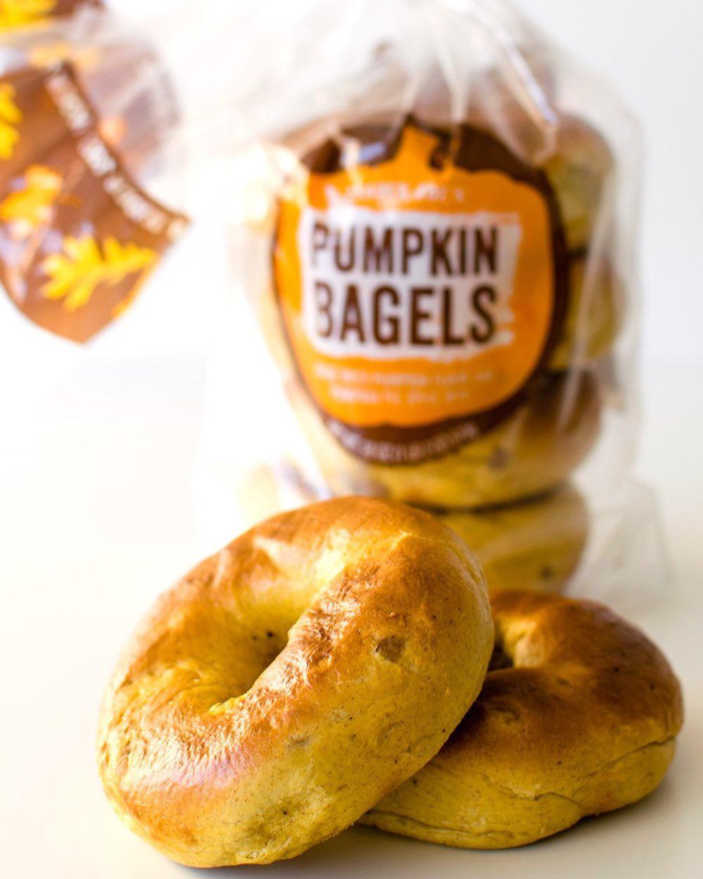 Pumpkin Bagels