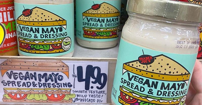 Trader Joe's Vegan Mayo